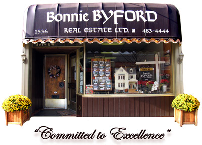 Our office on Bayview Avenue!  Click here to peek inside our dollhouse!
